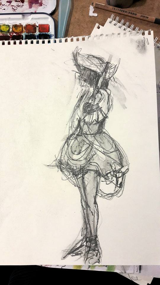 Dr Sketchy's – Salty Sea Dogs and Watery Wenches