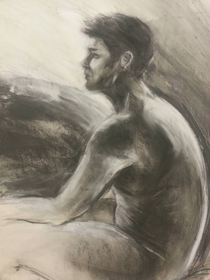 Adam. Water soluble graphite and chalk