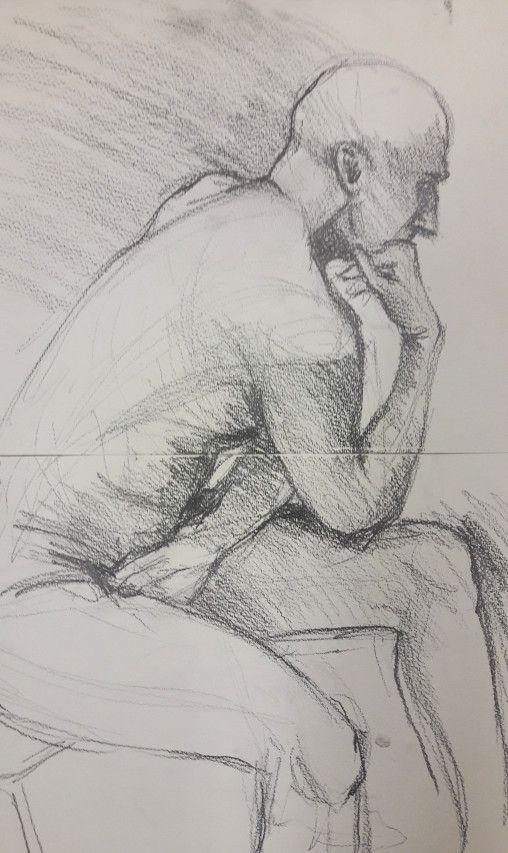 20 minute graphite sketch
