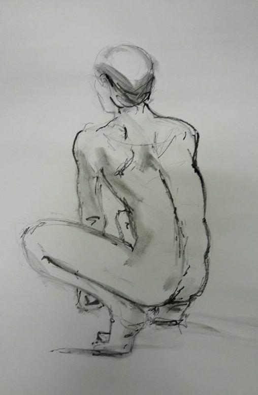 Stephen. 10-minute graphite study