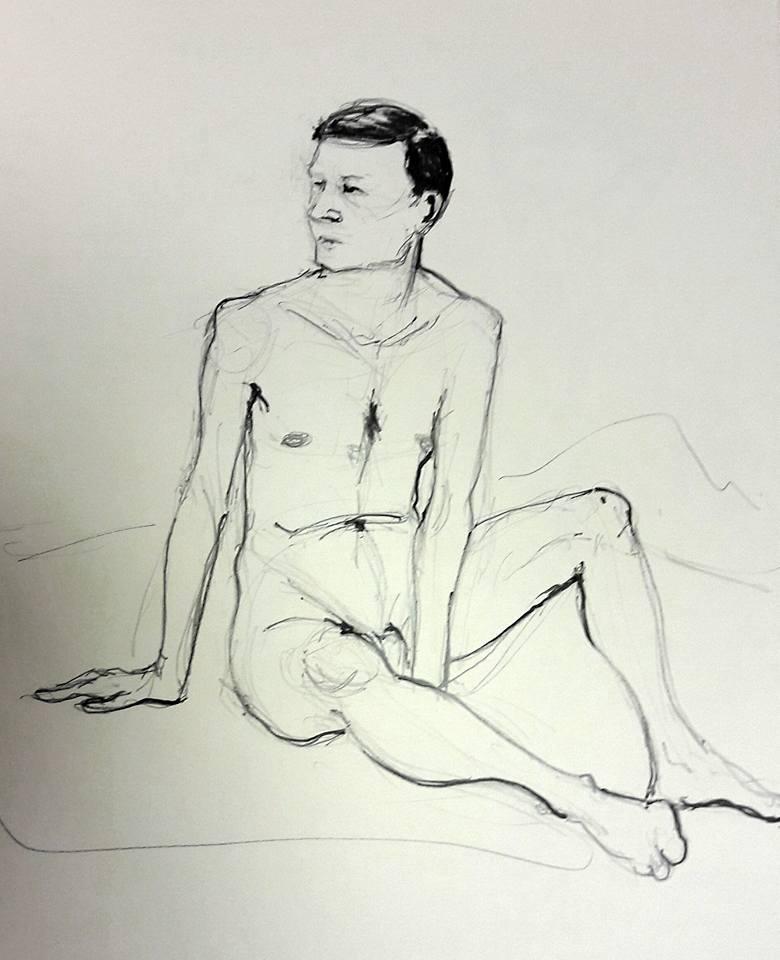 Steve. Graphite study