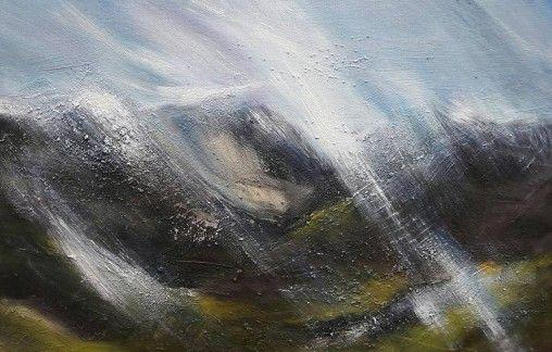 Summer Rain oil on canvas