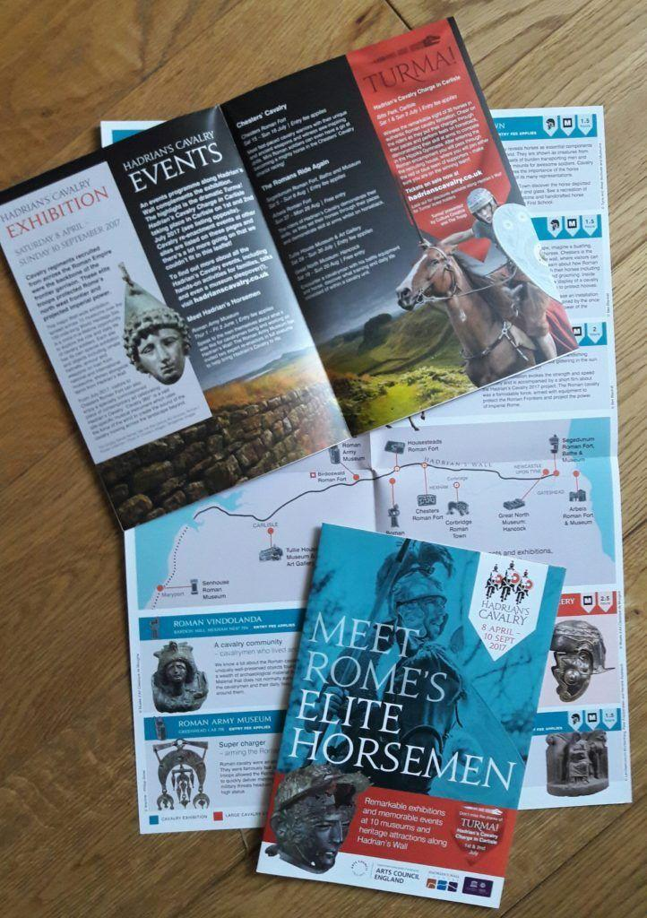 Branding and tourism literature for Hadrian's Cavalry