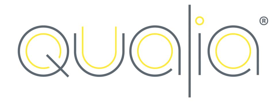 Qualia branding design