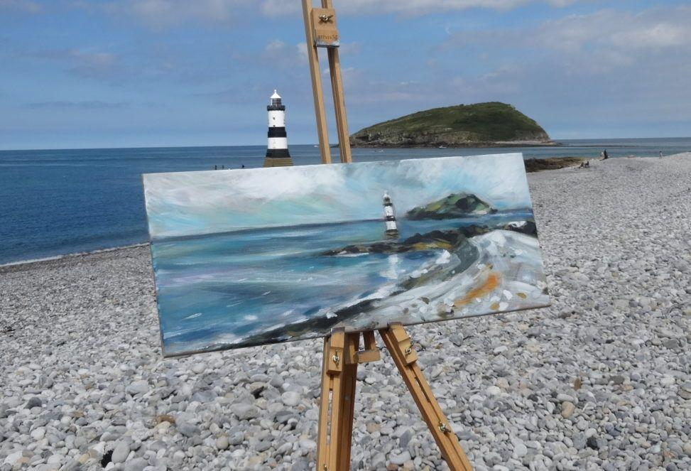 plein air at penmon