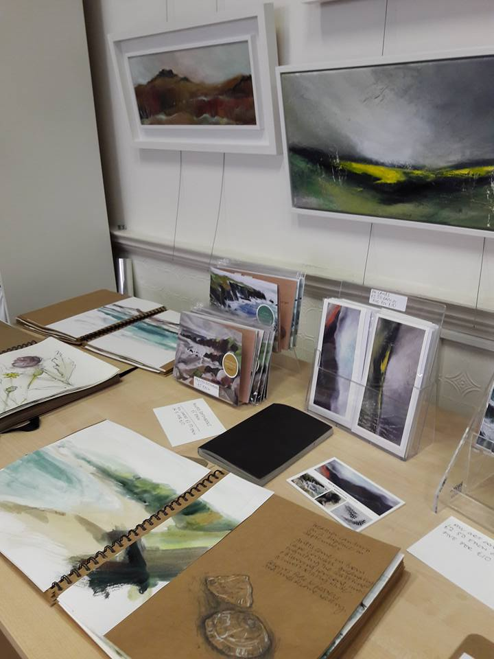 Art cards and printed sketch books