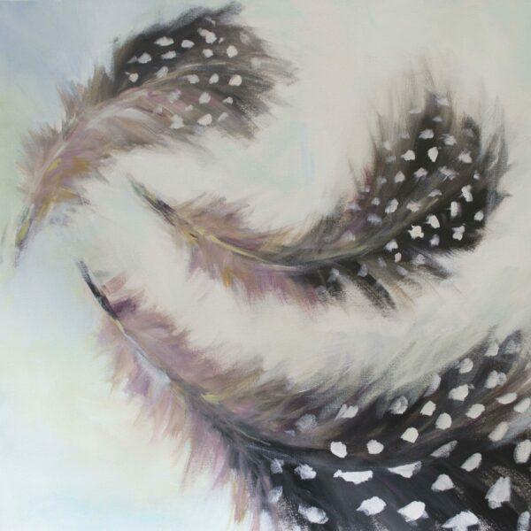 Guinea Fowl Feathers