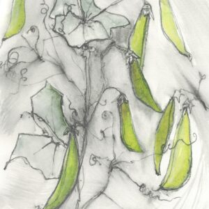Peas giclee print
