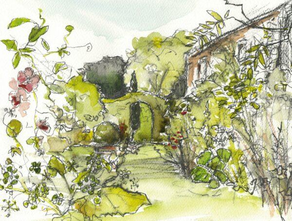 'The Front Garden' giclée print