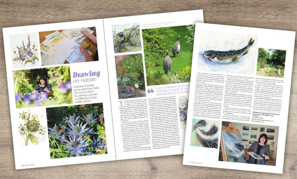 Yorkshire Living article, September 2018 edition