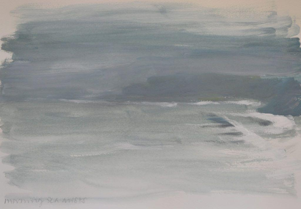 'Morning Sea Mists', this day turned out to be a total white-out. Definitely fog!