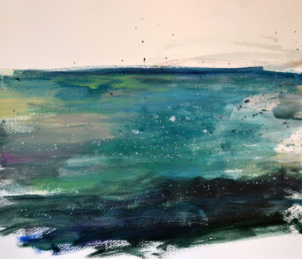 Sea colours at Nanjizal