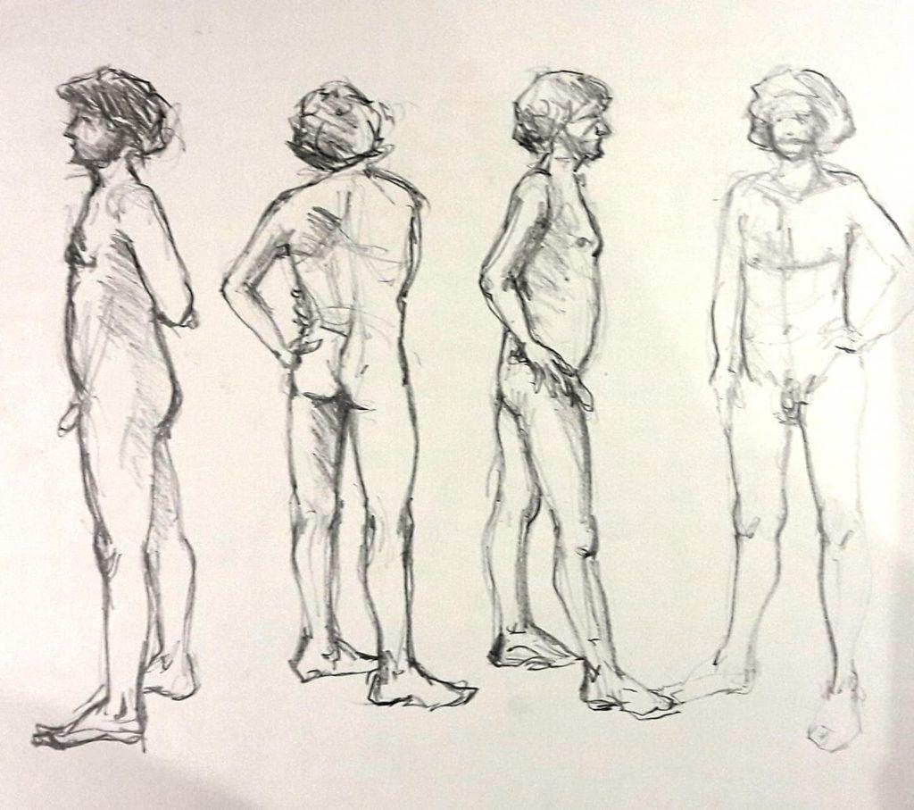 Ed. 5-minute studies in graphite