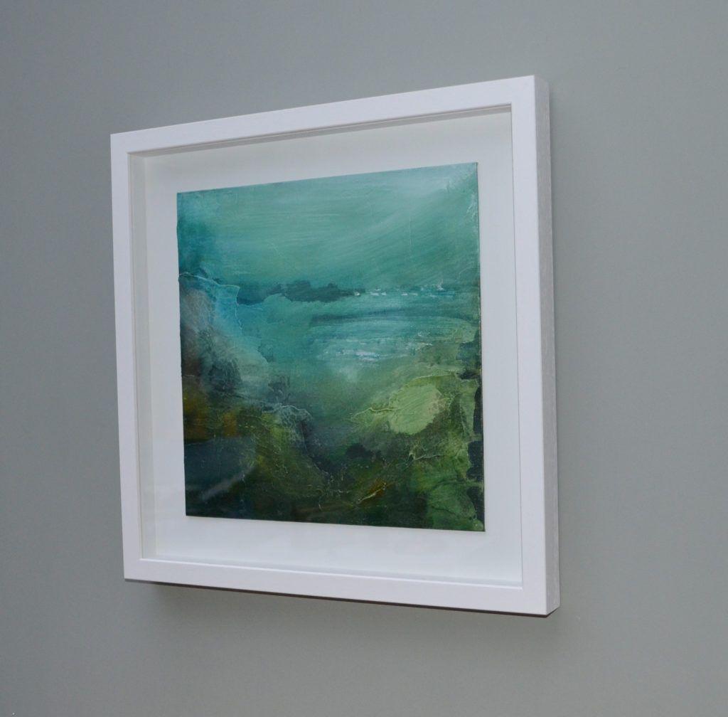 Lands End, framed