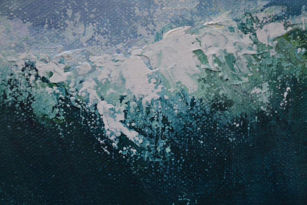 Detail of Sennen Wave