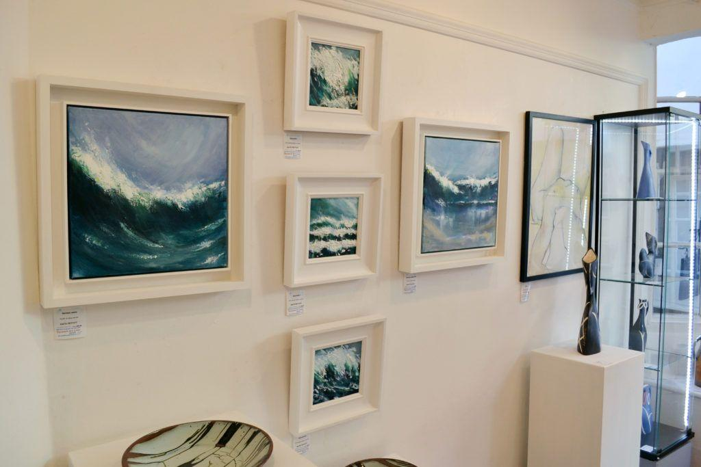 'Sennen Wave', 'Spindrift I, II and III' and 'Sennen Reflections'