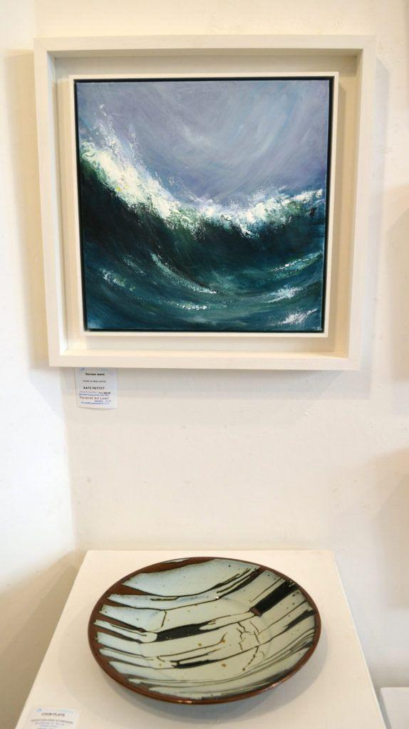 'Sennen Reflections' with bowl by John Jelfs