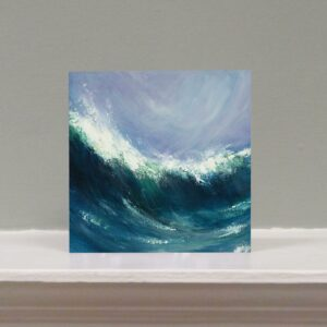 Sennen Wave art card
