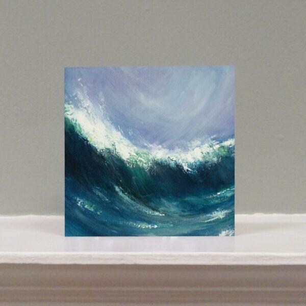Sennen Wave art card
