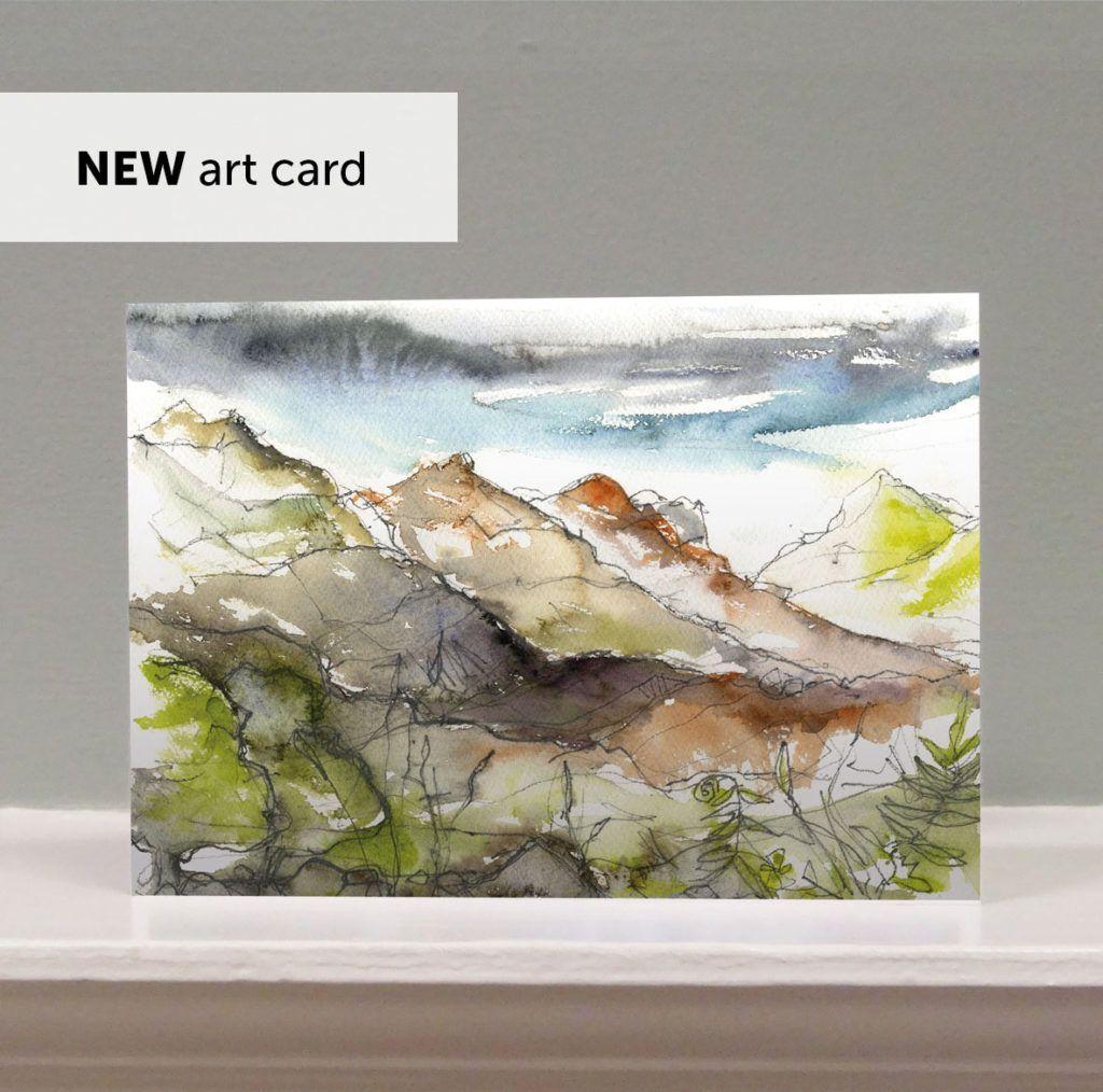'After the Rain' art card