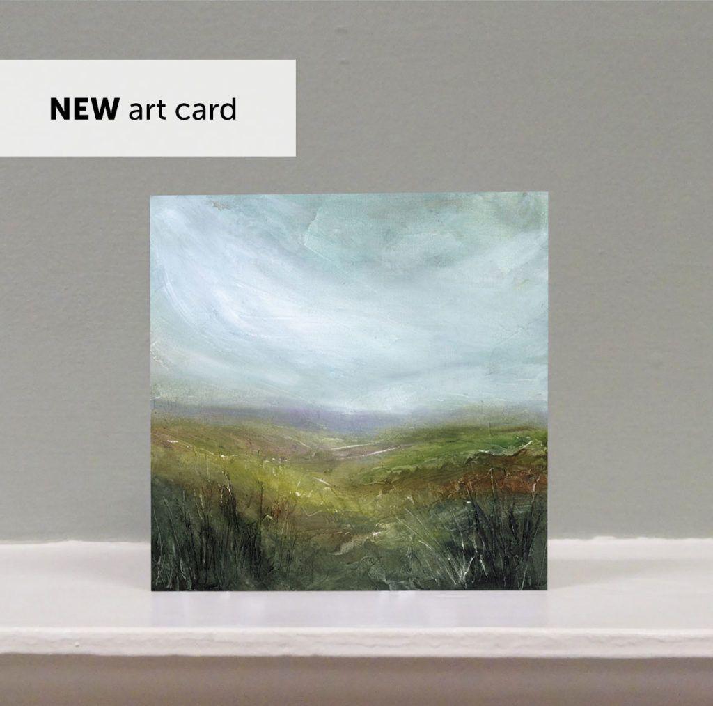 'High Down' art card
