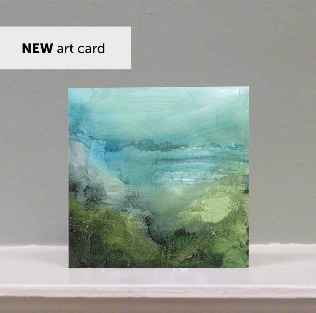 'Lands End' art card