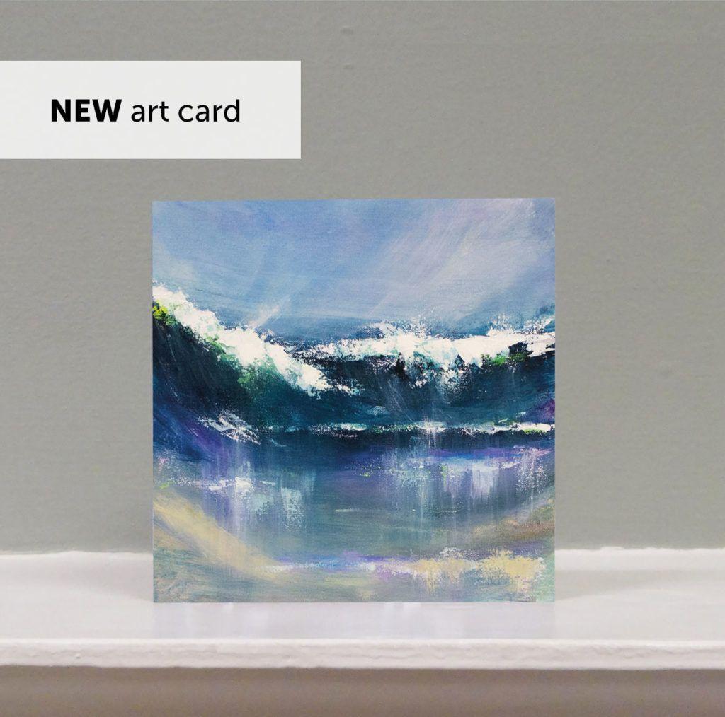 'Sennen Reflections' art card