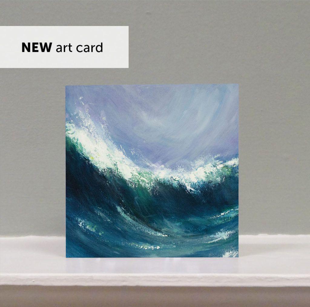 'Sennen Wave' art card
