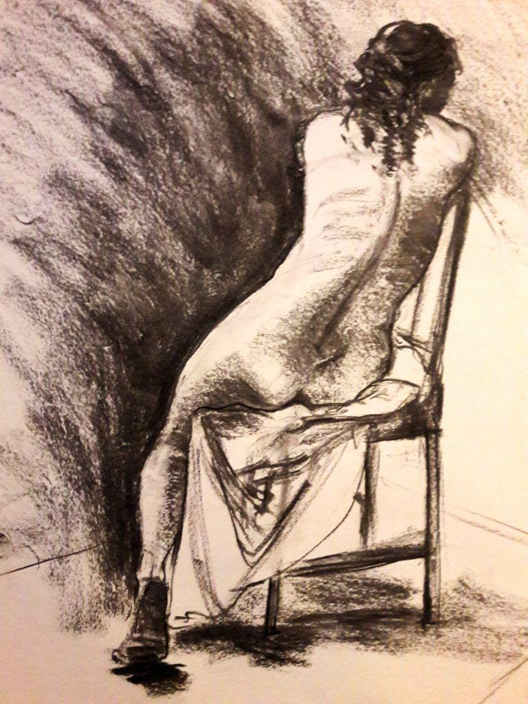 20 minute study in charcoal. A1