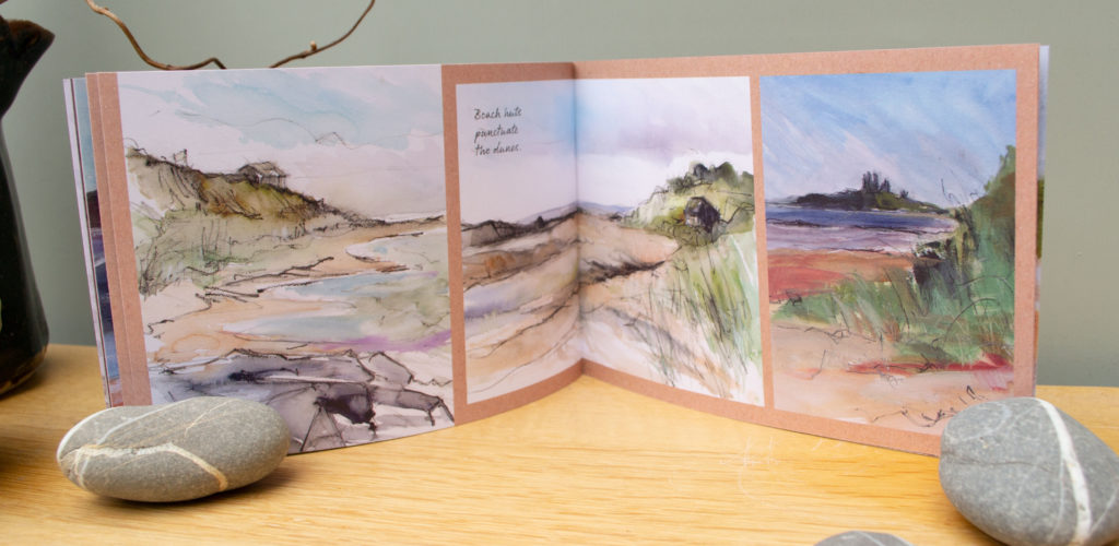 Spread from Northumberland Sketch book #2