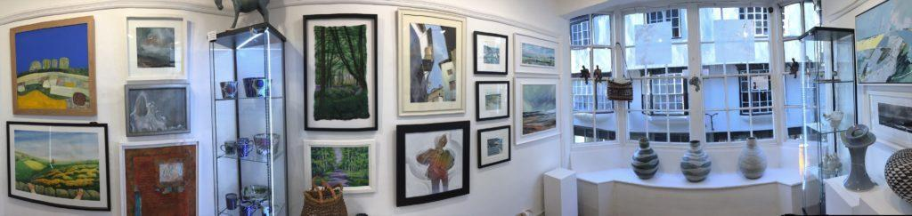 York Artworkers Association's group exhibition at Pyramid Gallery