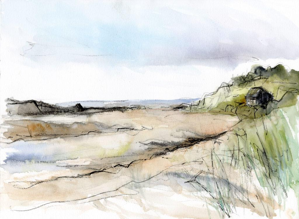 Beach Hut in the Dunes