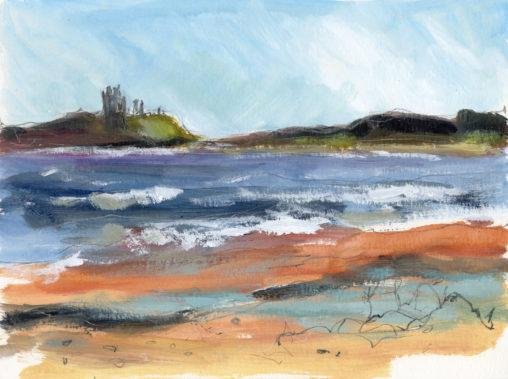 Dunstanburgh Castle View