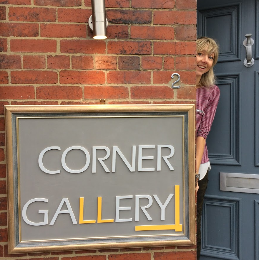 Kay at Corner Gallery