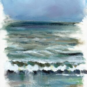 Silver sea - work on paper