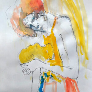 Schiele Head